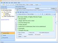 Portable Efficient Sticky Notes Pro 5.22.530 screenshot. Click to enlarge!