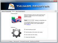 Portable Thumbs Remover 1.7.0.300 screenshot. Click to enlarge!