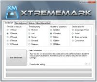 Portable XtremeMark 5.6.1.405 screenshot. Click to enlarge!