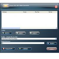 Power PSP/MP4 Video Converter 9.0.4.189 screenshot. Click to enlarge!