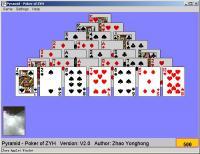 Pyramid - Poker of ZYH 2.0 screenshot. Click to enlarge!