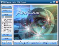 RGS-AvaCam  3.7.0 screenshot. Click to enlarge!