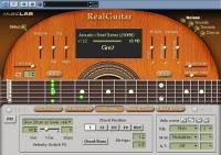MusicLab RealGuitar 4.0.0.7231 screenshot. Click to enlarge!
