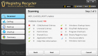 Registry Recycler 0.9.2.9 screenshot. Click to enlarge!