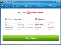 Registry Reviver 4.13.0.12 screenshot. Click to enlarge!