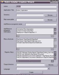 RobinInstaller 1.0 screenshot. Click to enlarge!