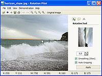 Rotation Pilot 1.0.4 screenshot. Click to enlarge!