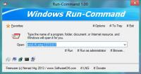 Run-Command 2.72 screenshot. Click to enlarge!