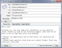 SMTP Mail Sender 1.0.0.14 screenshot. Click to enlarge!