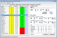 Satellite Antenna Alignment 2.92.0.0 screenshot. Click to enlarge!