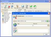 SecureWallet 1.01 screenshot. Click to enlarge!
