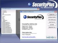 SecurityPlus for MDaemon 4.1.2 screenshot. Click to enlarge!