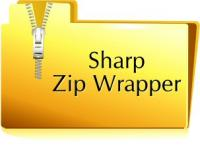Sharp Zip Wrapper 1.01 screenshot. Click to enlarge!