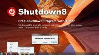 Shutdown8 Portable 1.08 screenshot. Click to enlarge!