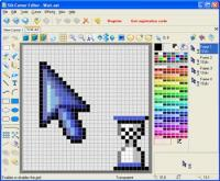 Sib Cursor Editor 3.11 screenshot. Click to enlarge!