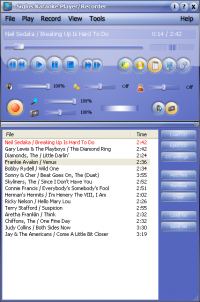 Siglos Karaoke Player/Recorder 2.0.69.0 screenshot. Click to enlarge!