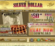 Silver Dollar Casino by Online Casino Extra 2.0 screenshot. Click to enlarge!