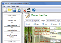 Simfatic Forms 5.0.3.443 screenshot. Click to enlarge!