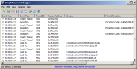 SimpleProgramDebugger 1.05 screenshot. Click to enlarge!