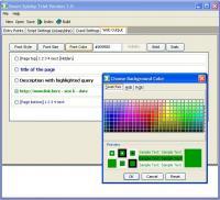Smart Spidey Regular Search Engine Maker 1 screenshot. Click to enlarge!