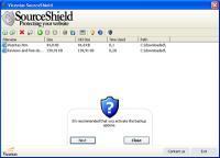 SourceShield 1.0.166 screenshot. Click to enlarge!