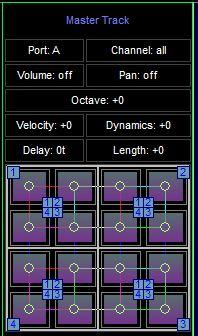Space Toad MIDI Sequencer 2.1.1 screenshot. Click to enlarge!