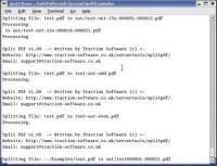 Split PDF 1.09 screenshot. Click to enlarge!