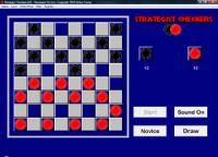 Strategist Checkers 2.1 screenshot. Click to enlarge!