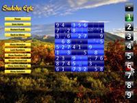 Sudoku Epic 4.61 screenshot. Click to enlarge!