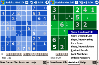Sudoku Mini 2.56 screenshot. Click to enlarge!