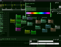 SunVox 1.8 screenshot. Click to enlarge!
