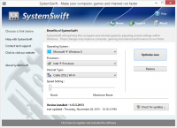 SystemSwift 2.4.24.2017 screenshot. Click to enlarge!