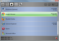 Temp File Cleaner 4.5.0 screenshot. Click to enlarge!