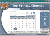 The Birthday Chronicle 9.3 screenshot. Click to enlarge!