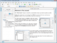 The Journal 7.0.0.1073 screenshot. Click to enlarge!