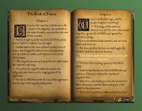 The KJV Desktop Bible Book 1.0 screenshot. Click to enlarge!