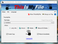 ThisIsMyFile 2.06 screenshot. Click to enlarge!