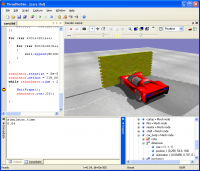 ThreeDimSim:3D Mechanics simulator 1.5.0.3 screenshot. Click to enlarge!