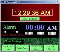 Time Organizer V 1.0 1.0 screenshot. Click to enlarge!
