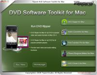 Tipard DVD Software Toolkit for Mac 4.0.08 screenshot. Click to enlarge!