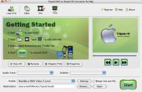 Tipard Mac DVD to Pocket PC Converter 3.6.06 screenshot. Click to enlarge!