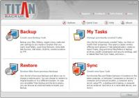 Titan Backup 2.5 screenshot. Click to enlarge!