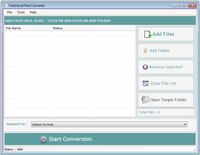 Total Excel Files Converter 3.6.2.6 screenshot. Click to enlarge!