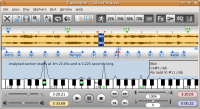 Transcribe! for Linux 8.21 screenshot. Click to enlarge!