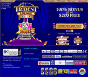 Trident Lounge Casino by Online Casino Extra 2.0 screenshot. Click to enlarge!