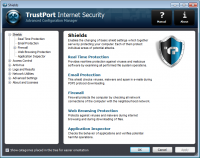 TrustPort Internet Security 2016 16.0.0.5664 screenshot. Click to enlarge!