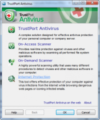 Trustport Antivirus for Servers Sphere 2017 17.0.2.7025 screenshot. Click to enlarge!