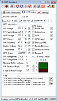 UPS Assistant 2.4.2.114 screenshot. Click to enlarge!
