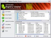 Ultimate Registry Cleaner 12.0 screenshot. Click to enlarge!