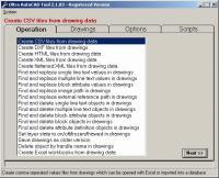 Ultra AutoCAD Tool 4.2.1 screenshot. Click to enlarge!